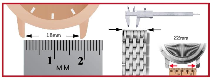Correa metálica para reloj de acero inox herramientas relojero vitrinas movimiento