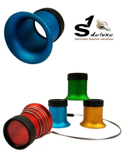 4 lupas de relojero S1 Deluxe ActiX Coloré