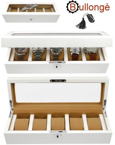 Caja para 5 relojes MONROE by BULLONGÈ