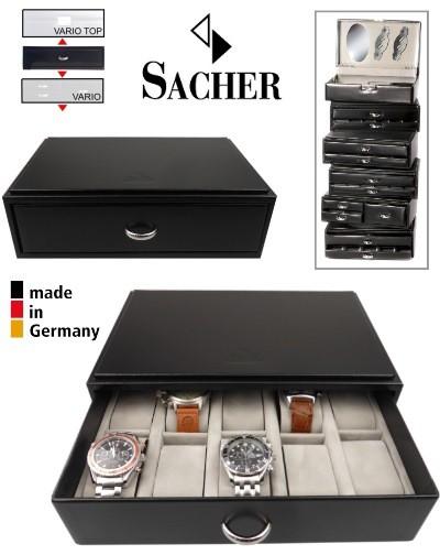 Caja apilable para 10 relojes SACHER VARIO 10S